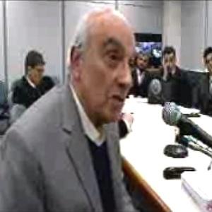 O lobista Jorge Luz depõe ao juiz Sergio Moro em processo da Operação Lava Jato