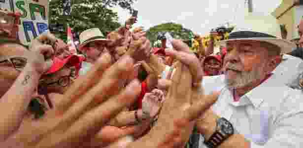 Lula participa de ato cultural na cidade de Cordisburgo durante caravana por Minas Gerais - Ricardo Stuckert - 29.out.2017/Instituto Lula