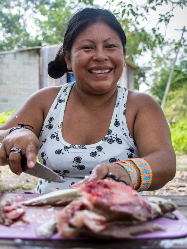 Alessandra Munduruku, liderança munduruku no Pará