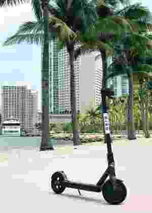 Patinetes da Bird podem ser vistos em diversas cidades americanas - Divulgação