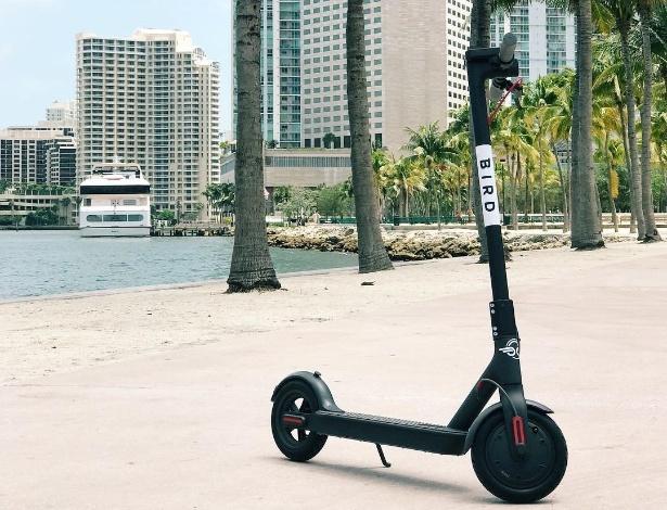 Miami, Los Angeles e San Francisco são cidades que já receberam as patinetes da Bird