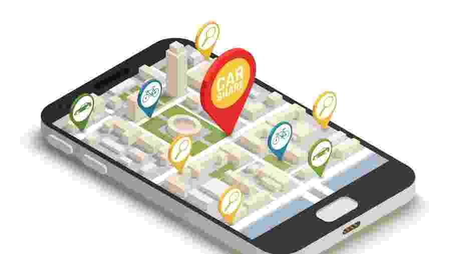 Fim de ano é época de reclamações sobre dificuldade para pedir carros em apps - iStock/Getty