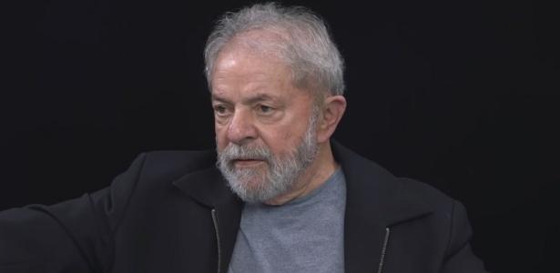 """Lula em entrevista para o livro """"A verdade vencerá"""". O vídeo foi divulgado em julho"""