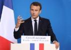 Irritados com a falta de resultados, franceses afirmam que o governo de Macron é decepcionante - AFP PHOTO / Ludovic MARIN
