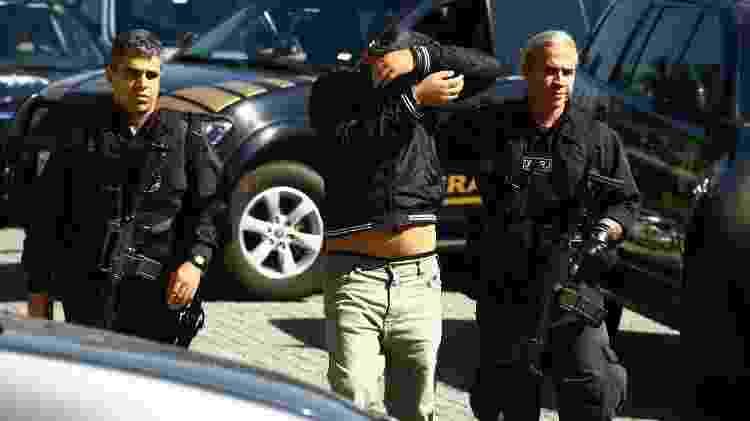 Operação Brabo da PF mirou 127 suspeitos de praticar tráfico internacional de drogas a partir do Brasil - 04.set.2017 - Aloisio Mauricio /Fotoarena/Folhapress - 04.set.2017 - Aloisio Mauricio /Fotoarena/Folhapress