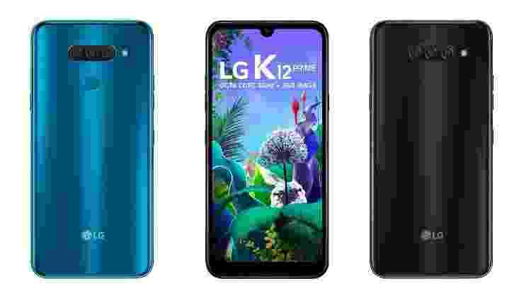 LG K12 Prime tem como diferencial a câmera tripla - Divulgação