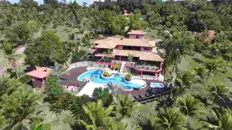 O resort de luxo onde foram presos suspeitos de golpe milionário - Reprodução