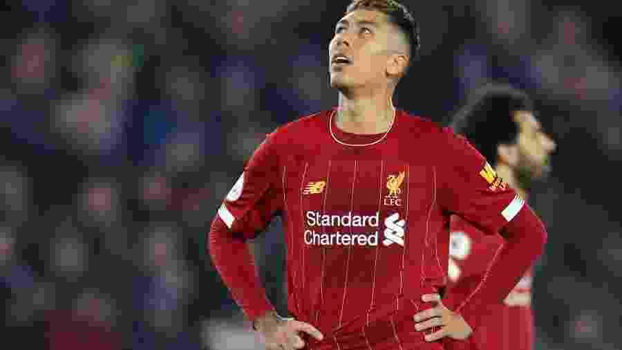 Roberto Firmino  se diz triste pela medida de segurança que impede torcida nos estádios, mas vê Liverpool com boa campanha -