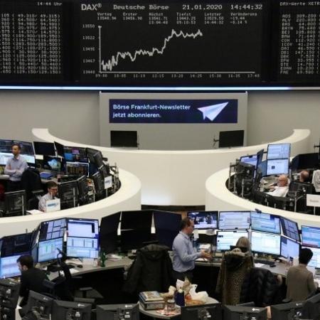 Bolsa de Valores de Frankfurt, Alemanha - STAFF