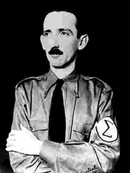 Plínio Salgado, idealizador do integralismo, movimento de orientação fascista dos anos 1930  - Domínio público