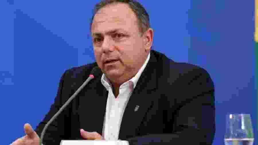 General Eduardo Pazuello, ministro interino da Saúde - Foto: José Dias/PR