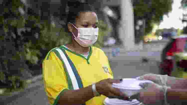 Milhares de pessoas desempregadas não receberam o auxílio emergencial - Getty Images - Getty Images