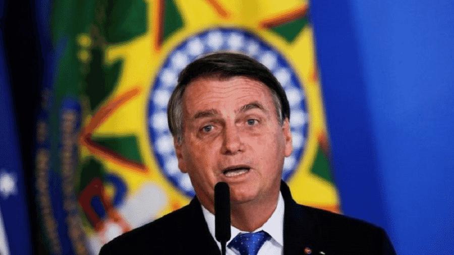 """""""Quando eu indico qualquer pessoa para qualquer local, eu sei que é uma boa pessoa, tendo em vista a quantidade de críticas que ela recebe em grande parte da mídia"""", provocou Bolsonaro - Ueslei Marcelino/Reuters"""