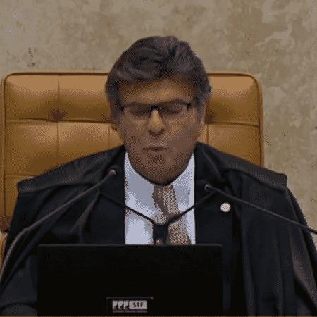 Ministro Luiz Fux - reprodução de vídeo