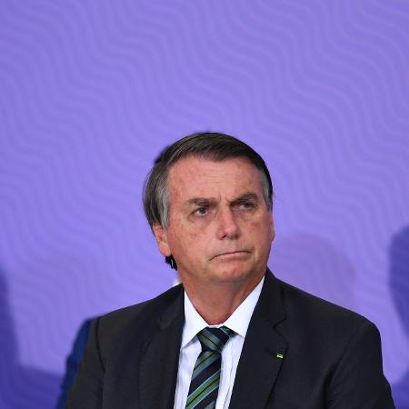 16.dez.2020 - O presidente Jair Bolsonaro durante cerimônia no Palácio do Planalto, em Brasília  - Mateus Bonomi/AGIF/Estadão Conteúdo