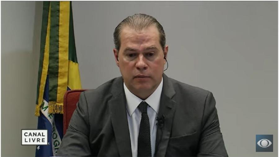 Dias Toffoli, ministro do Supremo, afirma que houve financiamento internacional nos atos antidemocráticos  - Reprodução/Youtube-Canal Livre