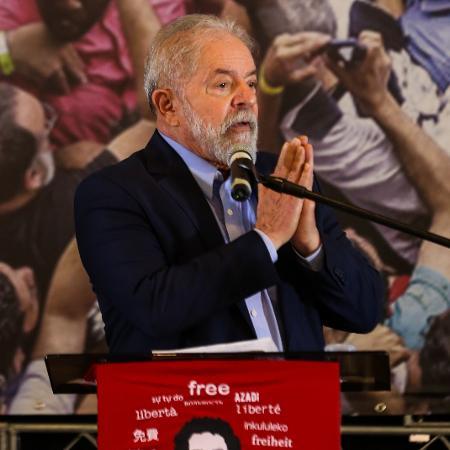 Defesa do ex-presidente Luiz Inácio Lula da Silva (PT) recebeu decisão favorável de Lewandowski - 10.mar.2021 - Marcelo D. Sants/Framephoto/Estadão Conteúdo