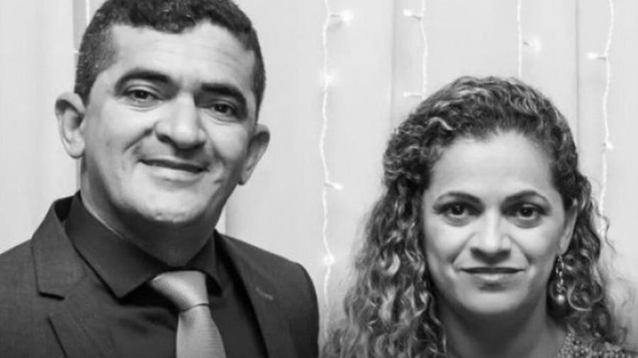 O deputado Elizeu Nascimento e a irmã Ângela Francisca - Reprodução/Facebook
