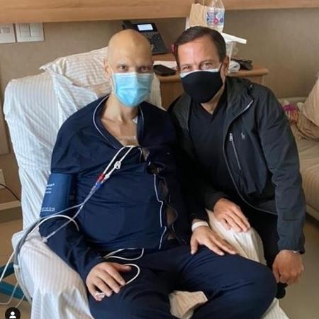 Bruno Covas está internado desde o dia 2 no Hospital Sírio-Libanês para tratar de um câncer  - Redes sociais