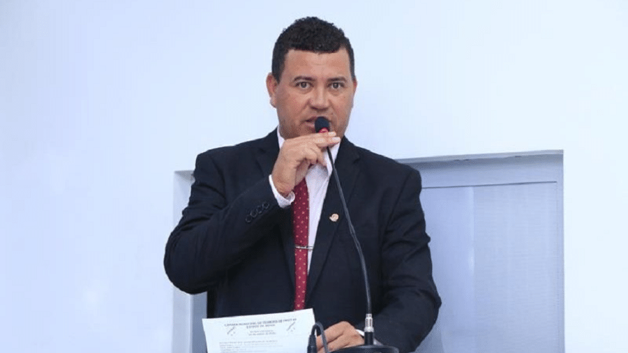 Vereador em Teixeira de Freitas, político do PCdoB foi atingido por três disparos, segundo o diretório do partido - Divulgação/Câmara Municipal de Teixeira de Freitas