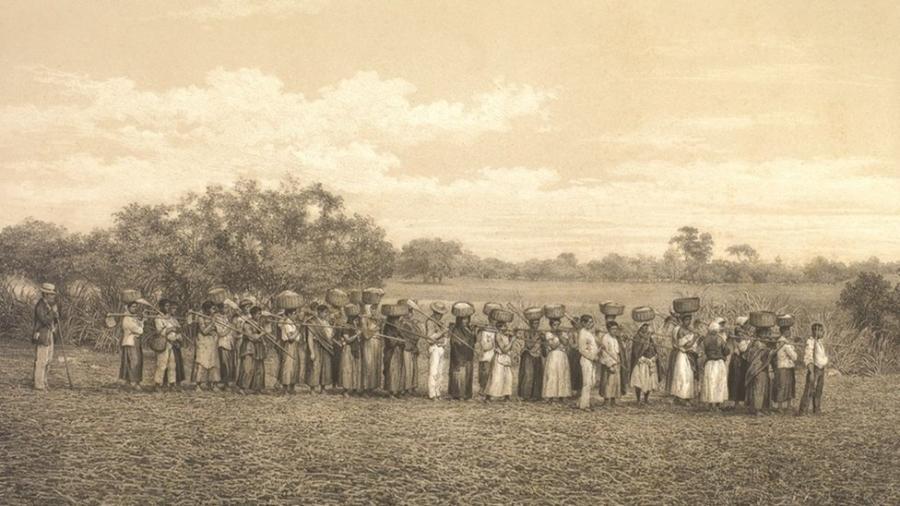 Mosteiros e conventos tinham pessoas escravizadas que eram obrigados a professar a fé católica - Arquivo Nacional/Domínio Público