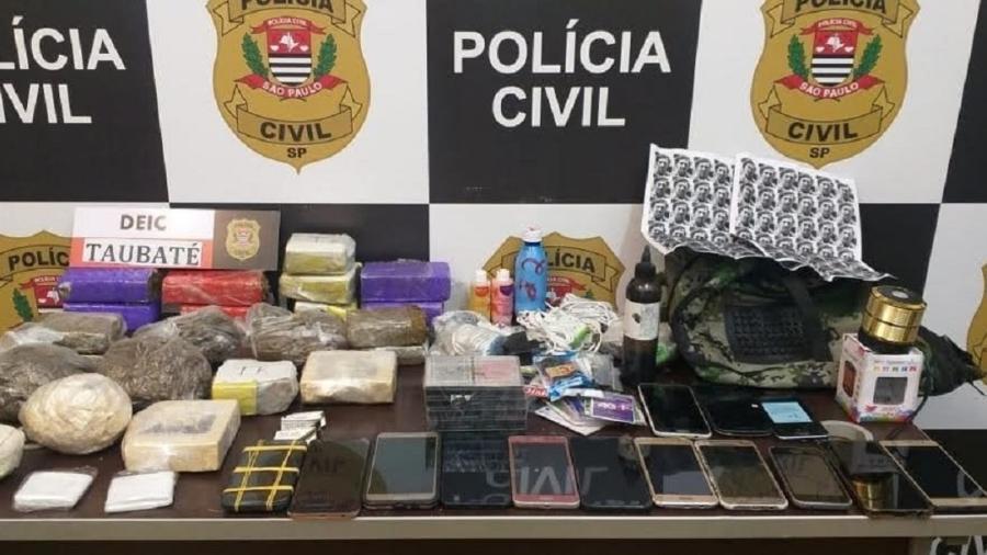 Operação Ninjas mira integrantes do PCC suspeitos de traficar drogas e armas dentro de presídio em Tremembé (SP) - Divulgação/MPSP
