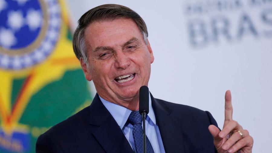 """A Secretaria-Geral da Presidência de Jair Bolsonaro (sem partido) determinou o sigilo afirmando que se tratam de assuntos """"privados"""" - Adriano Machado/Reuters"""