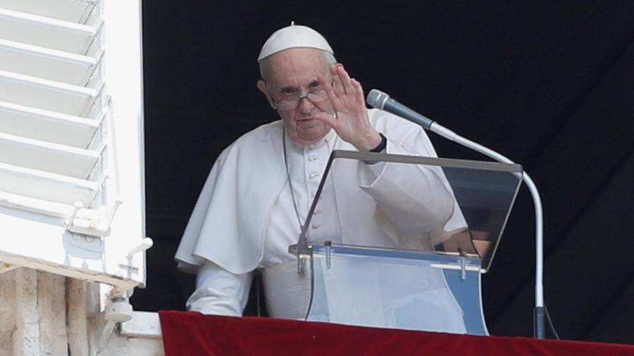 """Papa Francisco condenou nos cardeais """"negacionistas"""", que se recusam a serem vacinados contra a covid-19, em uma alusão a um de seus principais opositores - Remo Casilli/REUTERS"""