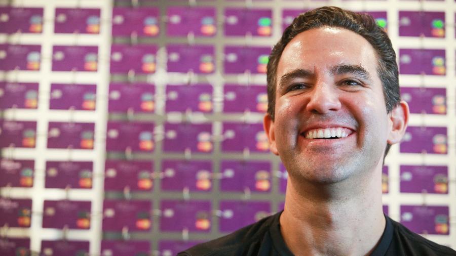 O CEO da Nubank, David Vélez, na sede da startup em São Paulo - Tiago Queiroz/Estadão Conteúdo