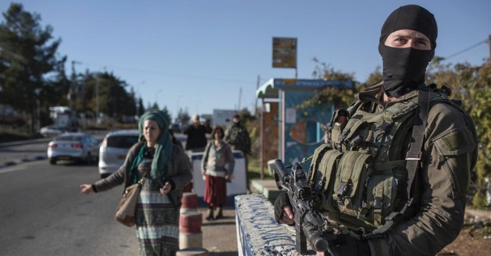 Gush Etzion, na Cisjordânia