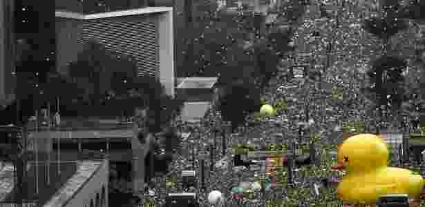 Recorde manifestações impeachment - Miguel Schincariol - 13.mar.2016/AFP - Miguel Schincariol - 13.mar.2016/AFP