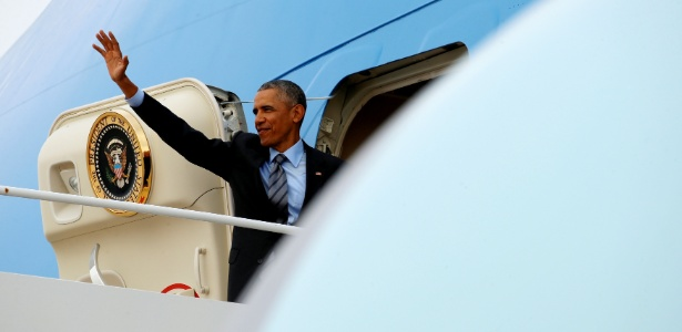 Obama no Air Force One