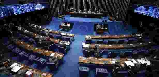 Senado esvaziado no sábado - Marcelo Camargo - 27.ago.2016 /Agência Brasil - Marcelo Camargo - 27.ago.2016 /Agência Brasil