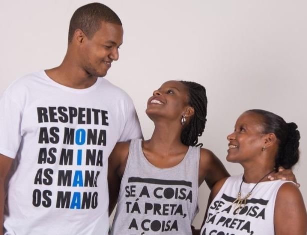 Os empreendedores Lucas Santana, Monique Evelle e Neuza Nascimento - Divulgação