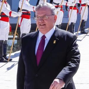 O embaixador grego Kyriakos Amiridis