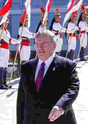 O embaixador da Grécia no Brasil, Kyriakos Amiridis - Marcos Correa/Divulgação/Presidência da República