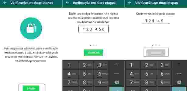 WhatsApp verificação 2 - Reprodução - Reprodução