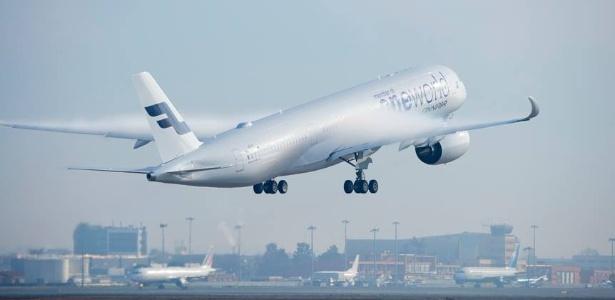 Avião da empresa Finnair