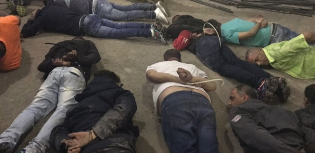 Ação da Polícia Civil deteve 16 suspeitos; cerca de quatro ainda estão foragidos