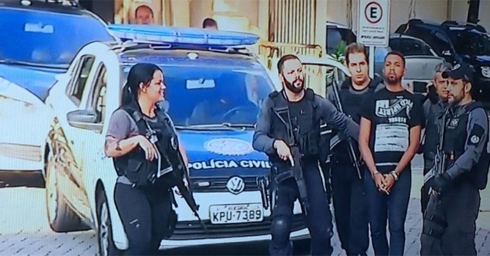 Rogério 157 foi preso nesta quarta-feira no Rio de Janeiro