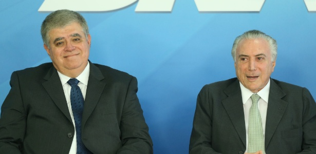 Temer empossa o deputado Carlos Marun (PMDB-MS) como ministro da Secretaria de Governo