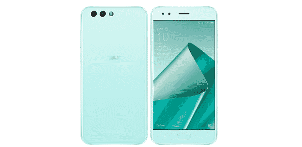 Zenfone 4, celular da Asus, na cor menta - Divulgação