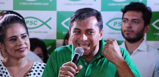 Wilson Lima (PSC) é eleito governador no Amazonas