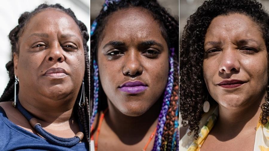 As deputadas eleitas no Rio Mônica Francisco, Daniela Monteiro e Renata Souza (da esq. para a dir.) - Zô Guimarães/Folhapress