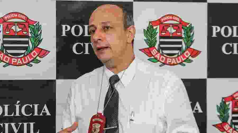 07.fev.2013 - Delegado Ruy Ferraz Fontes, enquanto titular do 27º DP, no Campo Belo - Marco Ambrosio/Frame/Folhapress