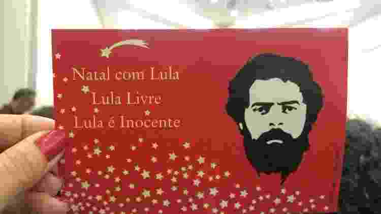 cartão natal - Janaina Garcia/UOL - Janaina Garcia/UOL