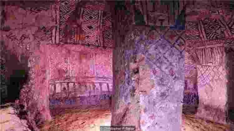 As 162 tumbas subterrâneas de Tierradentro foram esculpidas em rocha vulcânica sólida séculos atrás - Christopher P Baker/BBC Travel