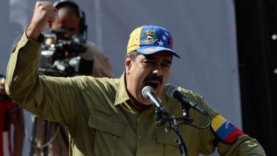 Nicolás Maduro já superou duros protestos contra ele em 2014 e 2017, mas agora a situação é diferente - AFP
