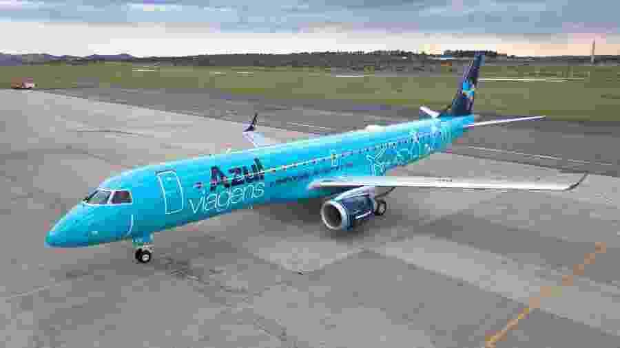 Avião da companhia Azul - Divulgação