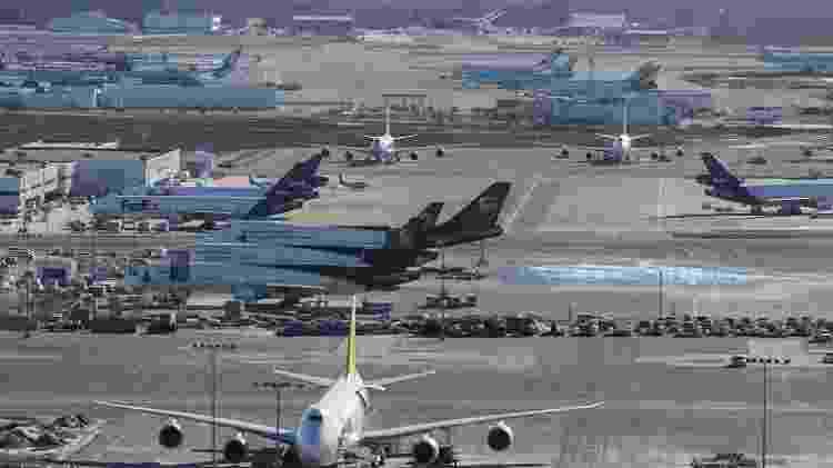 Aeroporto de Anchorage é focado em carga e recebe aviões de grande porte - Divulgação - Divulgação